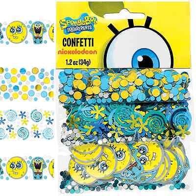 Sponge Bob Birthday Party (NEW Sponge-Bob SquarePants Confetti 1.2oz. (Each) Kids Birthday Party)