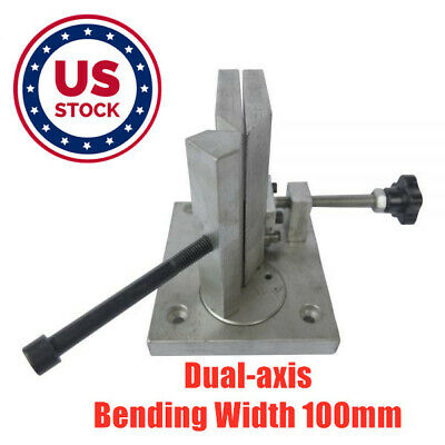 Us Stock Dual-axis Metal Channel Letter Angle Bender Tools Bending Width 100mm
