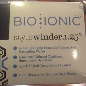 "Bio Ionic Curling Iron 1.25"" BRAND NEW"