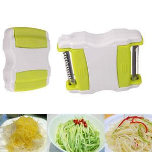 Kitchen Tool Vegetable Potato Carrot Cucumber Fruit Twister Cutter Slicer Peeler