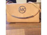 MK Crossbody beige bag