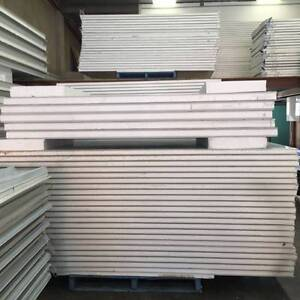 Coolroom / EPS sandwich wall panel 50mm thickness $27/m2 + GST Moorebank Liverpool Area Preview