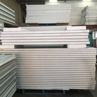Coolroom / EPS sandwich wall panel 50mm thickness $27/m2 + GST