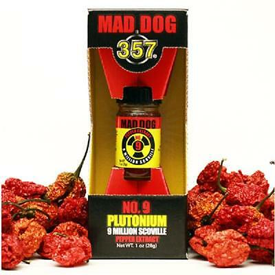 Mad Dog 357 Plutonium Pepper Extract Food Additive - EXTREMELY Hot 9 Million SVU