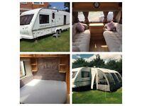Elddis Super Sirocco Fixed Bed Caravan 4 berth