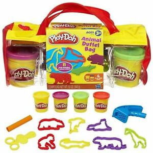 Mixed Play-Doh Party Bag & Animal Cutters Duffle Bag Brand New