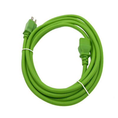 Green 10FT POWER SUPPLY CORD CABLE FR MICROSOFT XBOX ONE 1 BRICK CHARGER ADAPTER for sale  Shipping to India