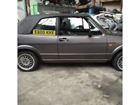Golf mk1 1.8 auto cabriolet breaking all parts available can post at cost