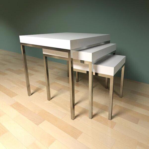 Ikea Klubbo Coffee Tables Set 3 Pcs In Haverhill Suffolk Gumtree