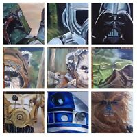 ComicCon themed prints of original paintings