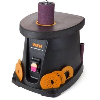 Wen Oscillating Spindle Sander Drum Sleeves Plates Wood Working Bench Power Tool