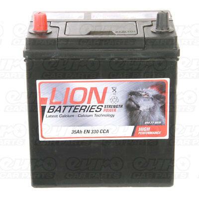 055 055 Car Battery 3 Years Warranty 35Ah 300cca 12V L187 x W127 x H225mm Lion