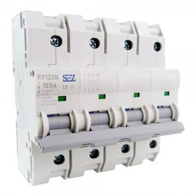 Sez Main Switch 125a 3n 4p Performance Separator 230v 50hz 89205 Sez 7097