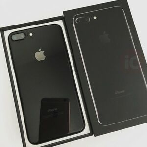 *Rogers* Jet Black iPhone 7 Plus, 265gb