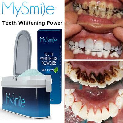 MySmile Teeth Whitening Powder Remove Tooth Coffee Stains Natural Whitener Kit