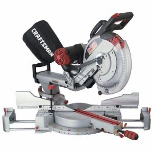 """Scie Onglet coulissante 12"""" sliding dual bevel miter saw NEUF"""