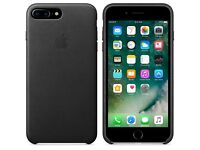 iPhone 7 plus leather case genuine