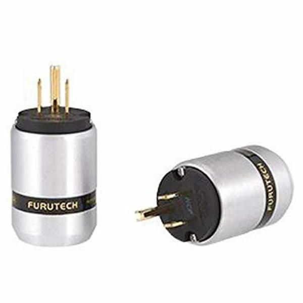 FURUTECH FI-46M-NCF (G) 3P Power plug [Gold plating] (15A 125V AC Brand-New F/S