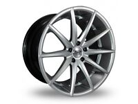 """19"""" Staggered AVA New York on tyres for an E90, E91, E92, E93 BMW 3 Series, Vauxhall Insignia ETC"""