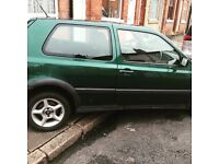VW GOLF 1.8 AUTOMATIC 1996 - 76k - NON-RUNNER