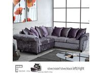 **YOUR ROMAN SOFA**LUXURY BRAND NEW ROMAN CORNER OR 3+2 SOFA SUITE COUCH IN DIFFERENT COLOURS