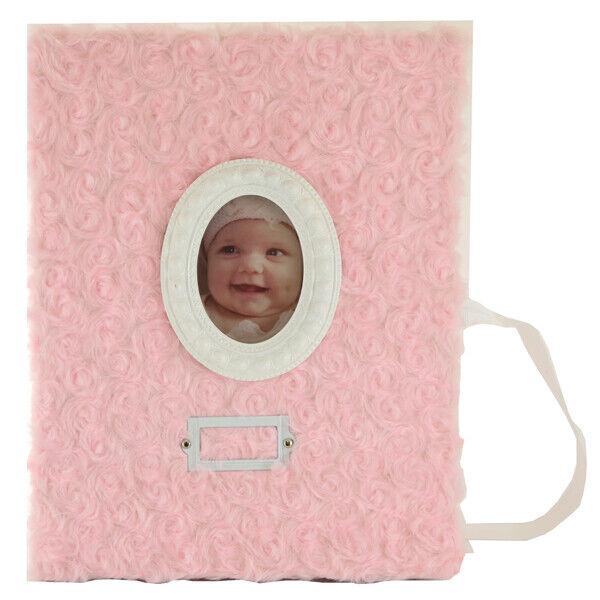 Lil Princess Baby Memory Milestone Book (Pink Roses)