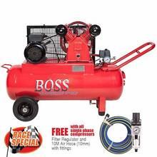 BOSS 12CFM/ 2.5HP Air Compressor on 70L Tank Browns Plains Logan Area Preview