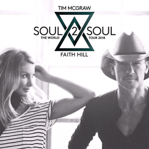 5th Row Tim McGraw & Faith Hill Soul2Soul Tour Hamilton June 18