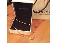 Genuine Pandora Essence Necklace with Joy Charm RRP £115