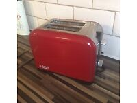 Russell Hobbs Red Toaster