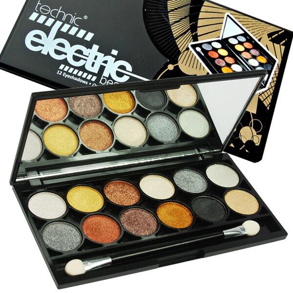 Technic Electric Eyeshadow Metalix Palette Metallic Eyeshadows | eBay