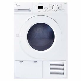 Tumble Dryer - Amica ADH82LCW 8kg freestanding heat pump Condenser Tumble Dryer