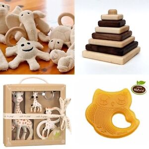 Wanted: 100% rubber, organic cotton, and wooden toys