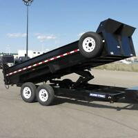 2015 SureTrac 7x16' HD Dump with Scissor Lift, Rent, Buy, Lease!