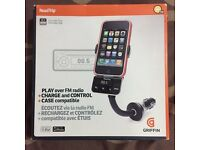 Griffin iPhone 4 charger doc and FM transmitter