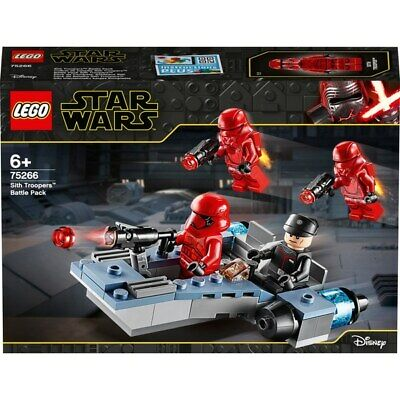 LEGO 75266 Star Wars Sith Troopers Battle Pack New & Sealed FREE POST