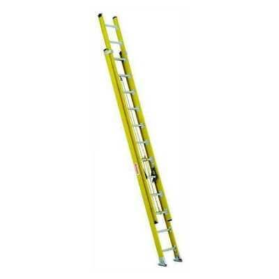 Westward 44yy57 Extension Ladder Fiberglass 24 Ft. Type Iaa
