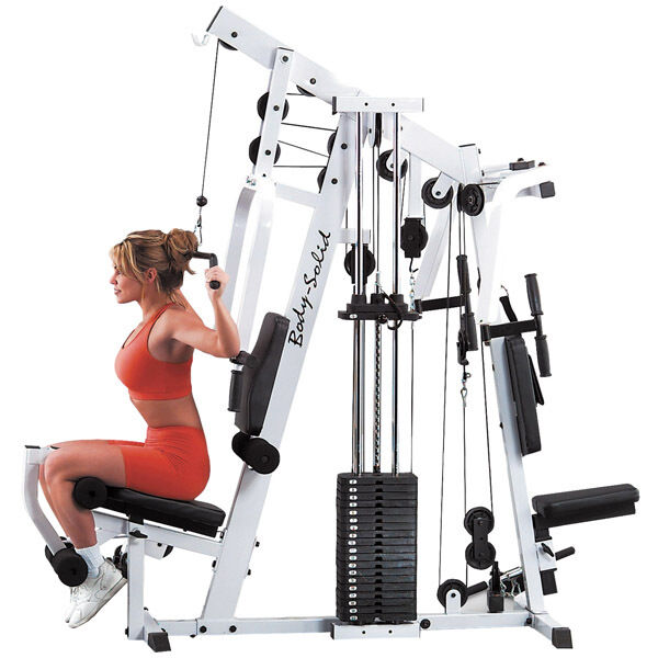 Body-Solid EXM2500S Home Gym Cable Strength Training Machine - Lifetime Warranty