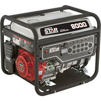 NorthStar Portable Generator — 8,000 Surge Watts, 6,600 Rated