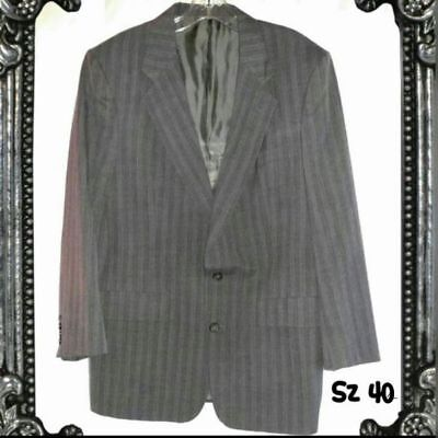 Mens Gray Christian Dior Suit Jacket Size 40