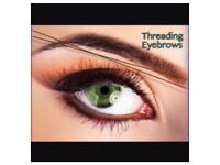 Eyebrow threading half price