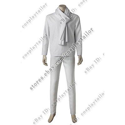 Despicable Me 3 Cosplay Dru Costume Minions Outfits White Uniform Full Set - Minion Full Costume