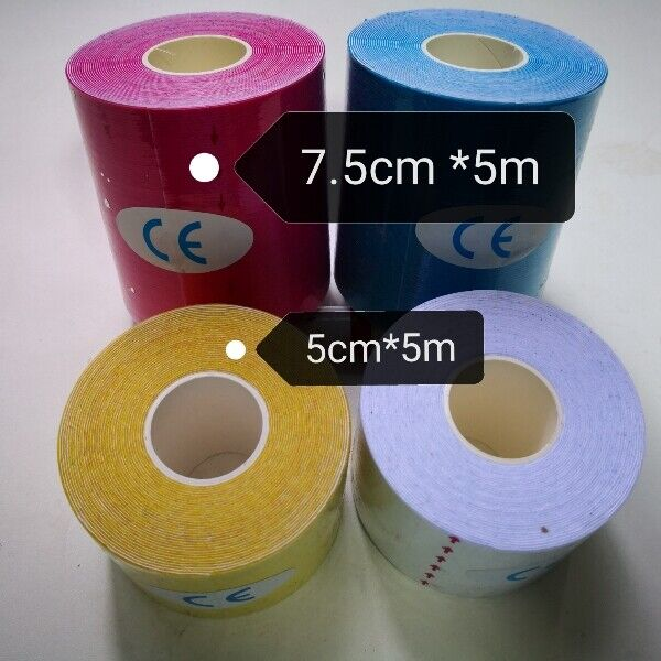*New* Kinesiology Tape, Sport Tape, Stretch Tape for tennis, jogging, basketball, soccer,