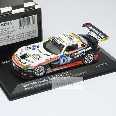 MINICHAMPS MERCEDES-BENZ SLS AMG GT3 FRANKENHOUT/SIMONSEN/KAFFER/ARNOL 437123265