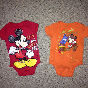 Mickey Mouse 3-6 month onesies  Kingston Kingston Area image 1