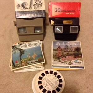 Antique view masters with antique reels Cambridge Kitchener Area image 1