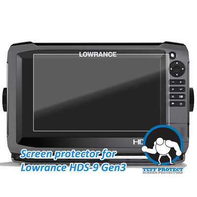 Tuff Protect Clear Screen Protectors for Lowrance HDS-9 Gen3