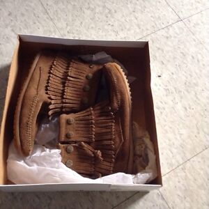 Brand new brown moccasins, size 5.5 Cambridge Kitchener Area image 9