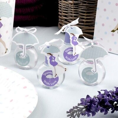 Baby Shower Seifenblasen, 6 Stk, für Babyparty ()