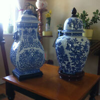 2 Vases brought from China - new